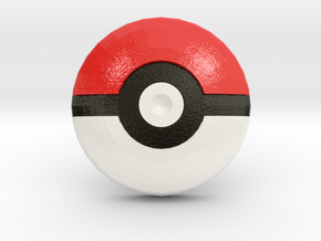 Pokeball Team - Supernova Soccer in Glossy Full Color Sandstone
