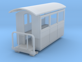 55n9  closed coach  in Smooth Fine Detail Plastic