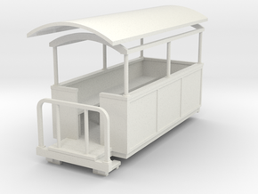 55n9 Semi-open coach  in White Natural Versatile Plastic