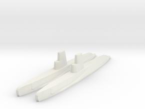 Guppy IIA x2 1/1800 in White Strong & Flexible