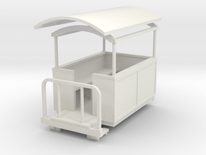 55n9 small semi-open coach  in White Natural Versatile Plastic