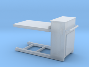 Pneumatic Table-72 in Smooth Fine Detail Plastic