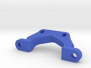 Team associated B5/B6 Front Wing Mount in Blue Processed Versatile Plastic
