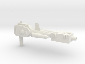 PM-27 GUN OF GUN in White Natural Versatile Plastic