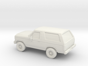 1/100 1984 Ford Bronco in White Strong & Flexible