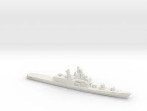 Shirane-class destroyer, 1/1800 in White Natural Versatile Plastic