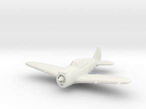 Republic P-43 'Lancer' in White Natural Versatile Plastic: 1:200