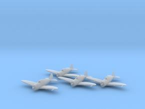 Republic P-43 'Lancer' 1:200 x4 FUD in Smooth Fine Detail Plastic