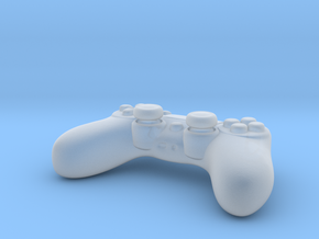 Ps4 Controller Tiny  in Smooth Fine Detail Plastic
