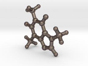 Caffeine Molecule Metal in Stainless Steel