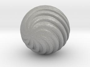 Wave Ball in Aluminum