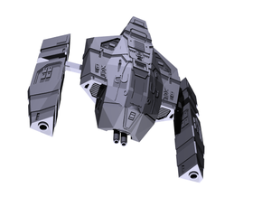 """Somtaaw """"Acolyte"""" Heavy Fighter in Smooth Fine Detail Plastic"""