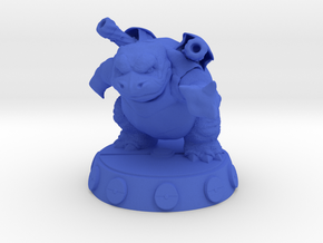Blastoise Pokemon in Blue Processed Versatile Plastic