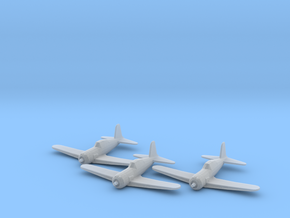 Vultee P-66 'Vanguard' 1:200 x3 FUD in Smooth Fine Detail Plastic