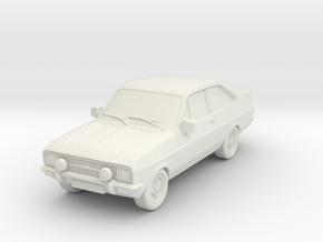 1:87 escort mk 2 2 door rs round headlights spots in White Natural Versatile Plastic