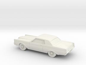 1/87 1968-71 Lincoln Mark III in White Natural Versatile Plastic