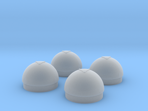 1/48 Torpedo Warhead Inserts for PT Boats in Smooth Fine Detail Plastic