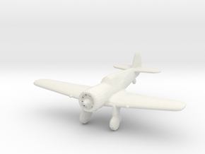 Curtiss 75N 'Hawk' in White Strong & Flexible: 1:200