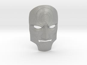Amon Mask from Legend of Korra - Color in Aluminum