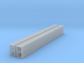 Sash Window Type 1 at US N Scale in Smooth Fine Detail Plastic