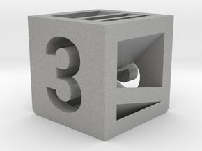 Photogrammatic Target Cube 3 in Aluminum