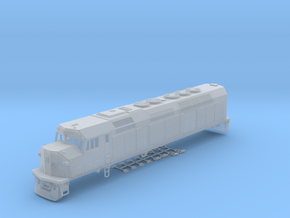 HO Scale EMD F40C (Milwaukee Road) in Smooth Fine Detail Plastic