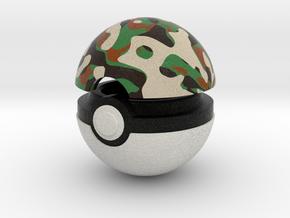 Pokeball (Safari) in Full Color Sandstone