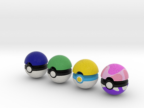 Pokeballs (Set 07) in Full Color Sandstone