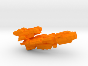 Heavy Glider in Orange Strong & Flexible Polished
