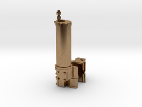 Wasserpumpenanbau V0.3 in Natural Brass