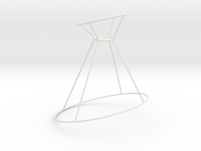Pendant-WiredCone30-60-90-Wire in White Natural Versatile Plastic