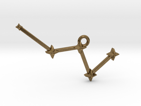 The Constellation Collection - Cassiopeia in Natural Bronze