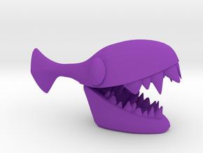 Jezebel (small) .  Piranha  . Pirá-anhã .  ピラニア in Purple Processed Versatile Plastic