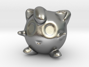 Jigglypuff in Natural Silver