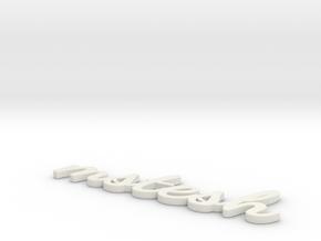 Model-ec4b33c0b5a870e1b6012161b60e7fd8 in White Strong & Flexible