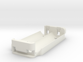 Dual 18650 Series Sled for Alpinetech P+ in White Natural Versatile Plastic