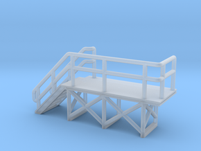 N Scale train crew platform #2 in Smooth Fine Detail Plastic