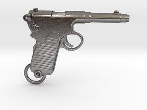 Frommer Gun 1910 in Polished Nickel Steel