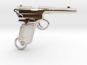 Frommer Gun 1910 in Platinum