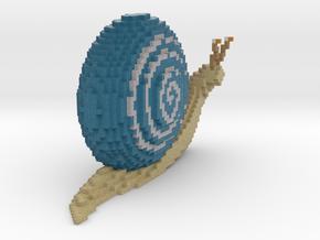 Snail in Full Color Sandstone