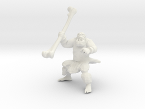 Wild Orc in White Natural Versatile Plastic