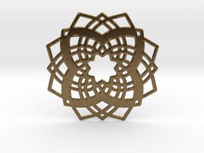 sacred geometry in Natural Bronze