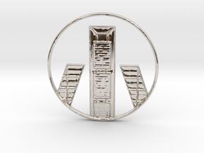 Madrid Pendant in Platinum