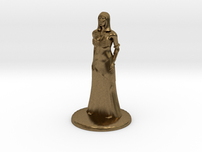Hathor - 25mm in Raw Bronze