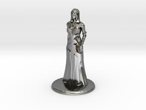Hathor - 25mm in Fine Detail Polished Silver