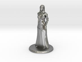 Hathor - 25mm in Natural Silver