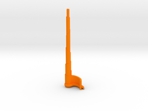 The Spire in Orange Processed Versatile Plastic