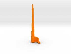 The Spire in Orange Processed Versatile Plastic