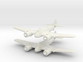 1/240 Bristol Beaufighter Mk.Ic (x2) in White Natural Versatile Plastic