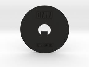 Clay Extruder Die: Rim 001 01 in Black Natural Versatile Plastic